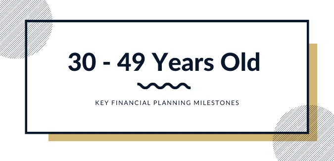 financial planning in 30s and 40s