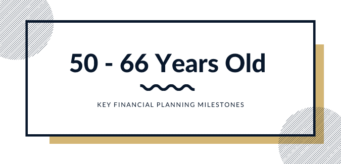 financial planning in 50s and 60s